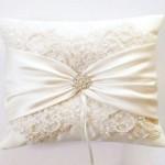 Свадебная подушечка для колец своими руками