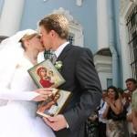 После бракосочетания или венчания