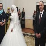 Вновь нашумела Чечня: свадьба между милиционером и несовершеннолетней